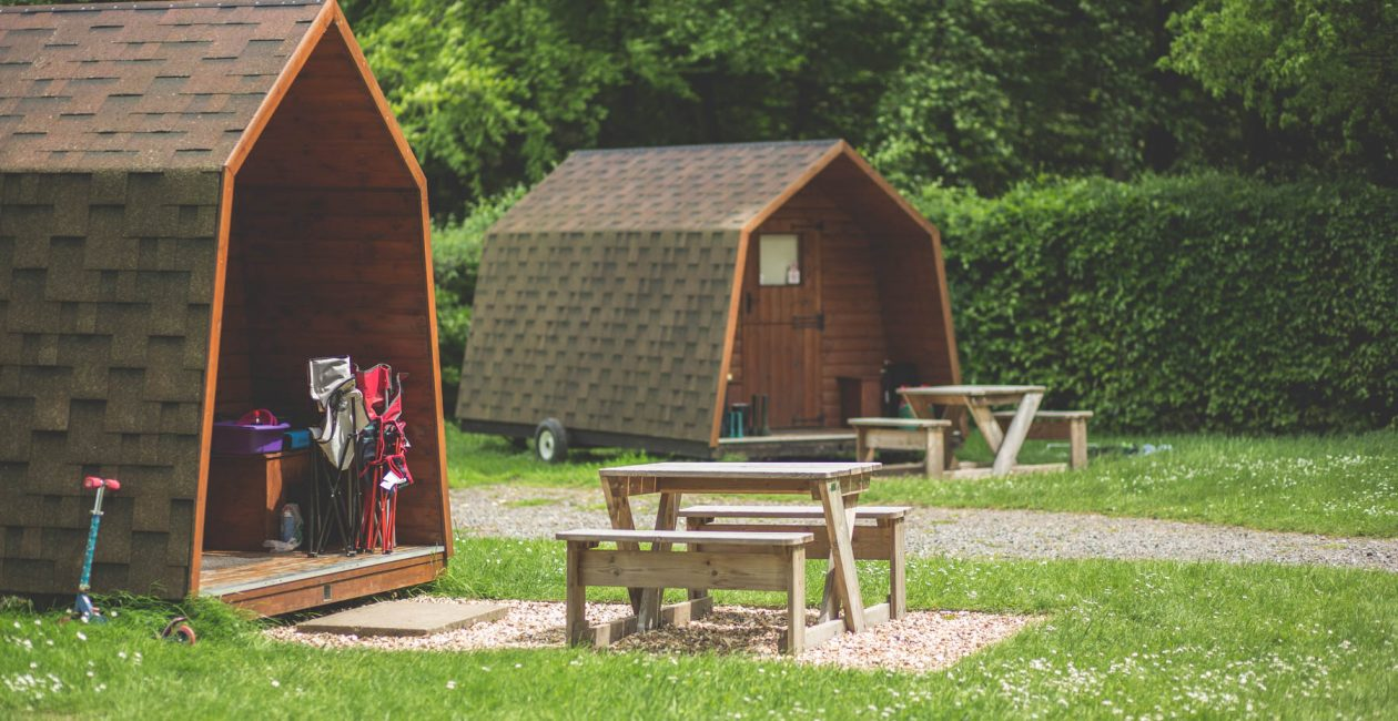 Camping Pods at Forest Glade in Devon