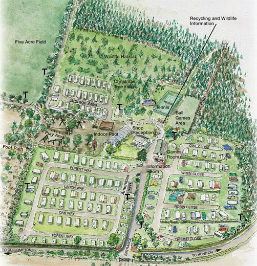 Forest Glade Park Plan