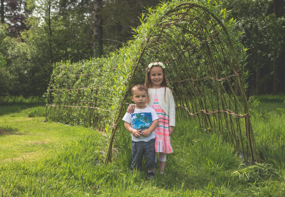 forest glade activities willow tunnel
