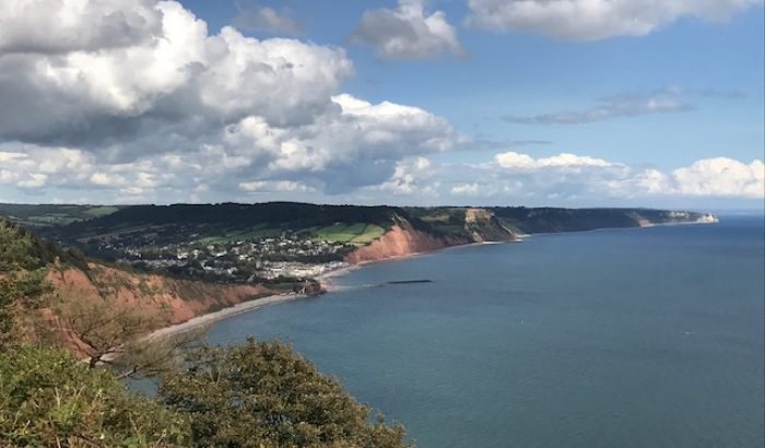 Things to do in Devon - beaches sidmouth