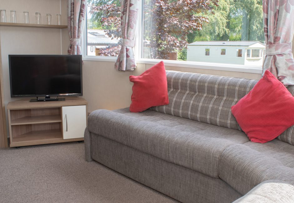 Culm Caravan Lounge at Forest Glade