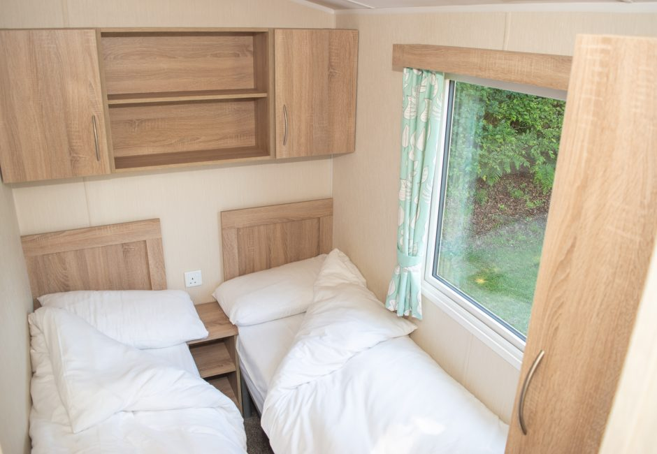 Exe Super Holiday Caravan Twin Room at Forest Glade