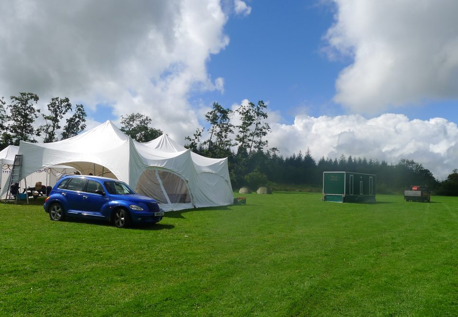 Wedding at Forest Glade Marquee