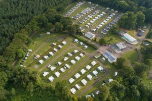 Aerial picture of Forest Glade Holiday Park