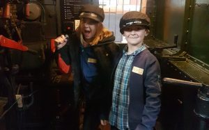 Steam railways fun at Tiverton Museum.