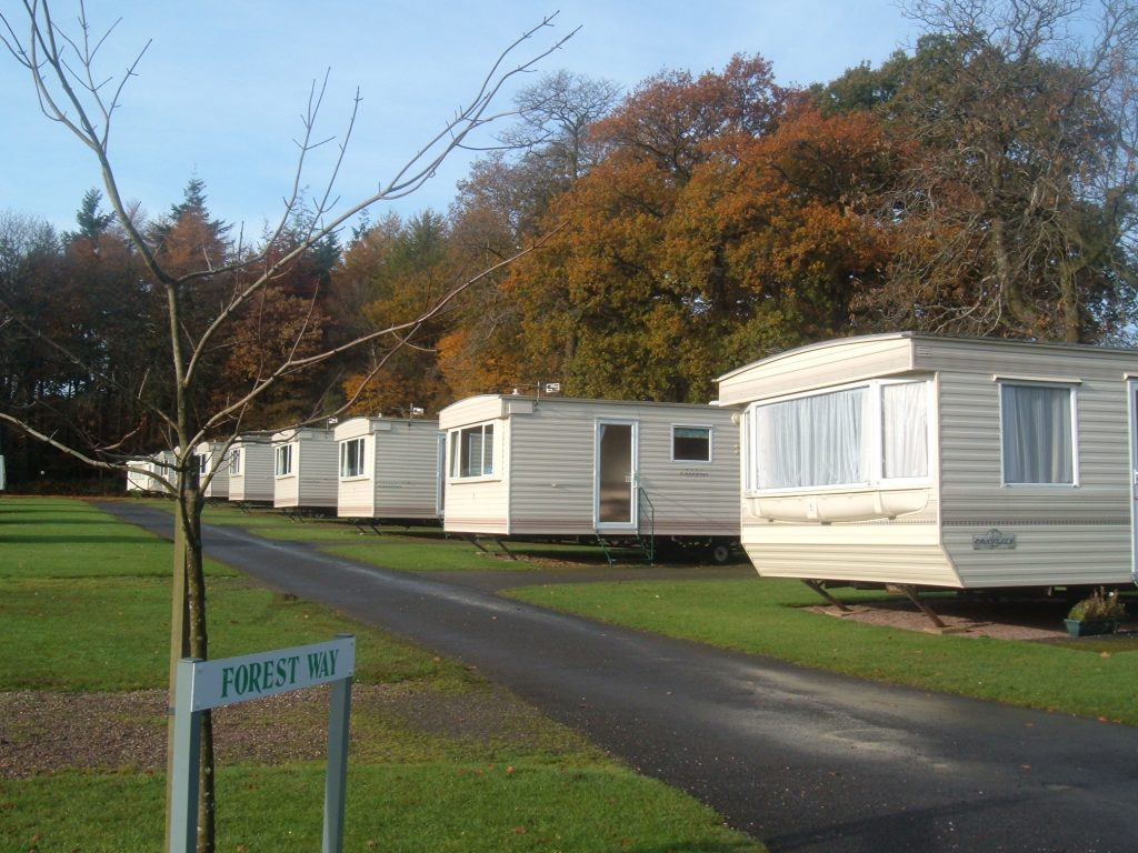 Autumn caravan holidays