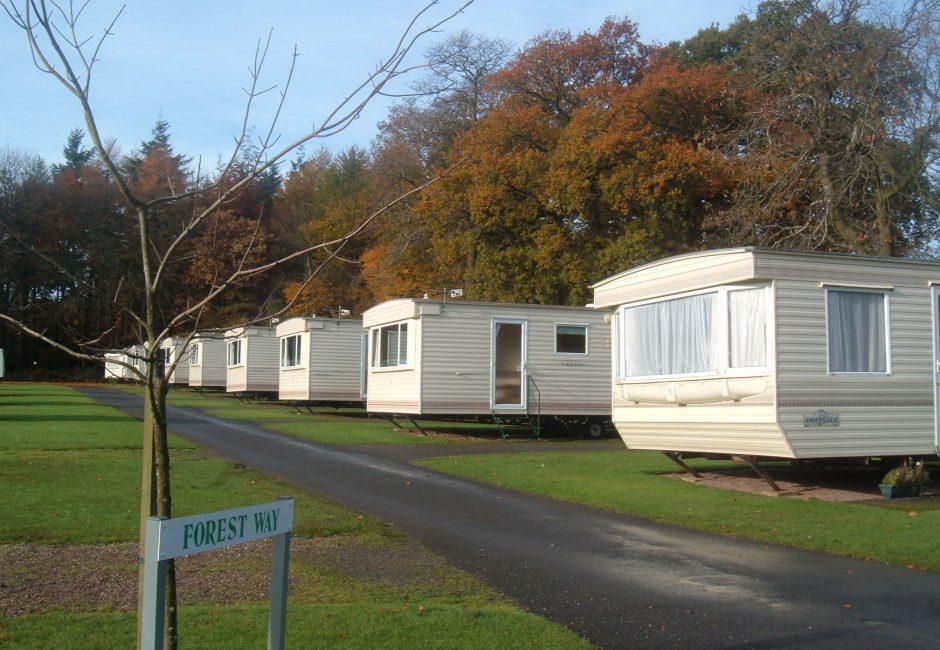 Autumn caravan holidays