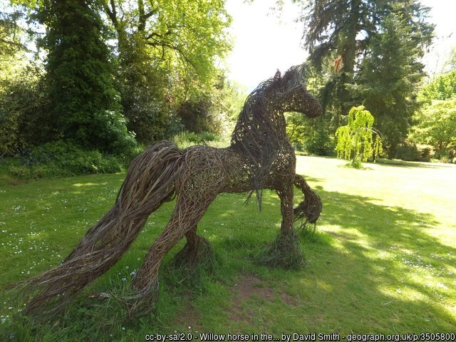 Knightshayes Court Willow Horse