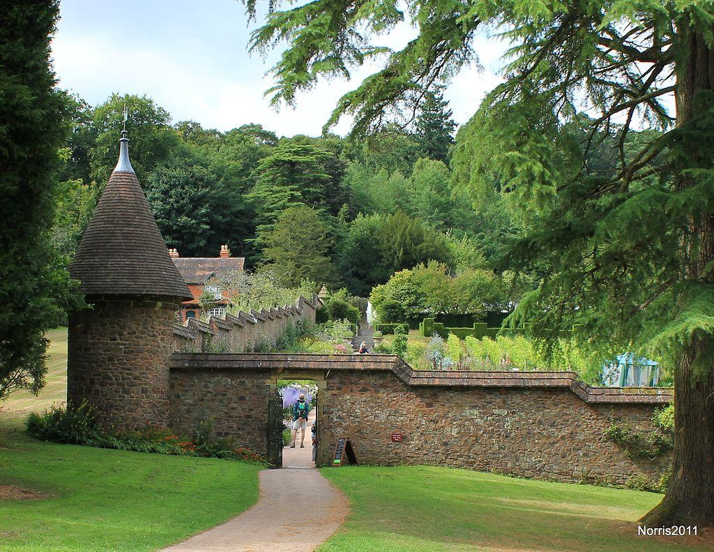 Walled garden at Knightshayes.