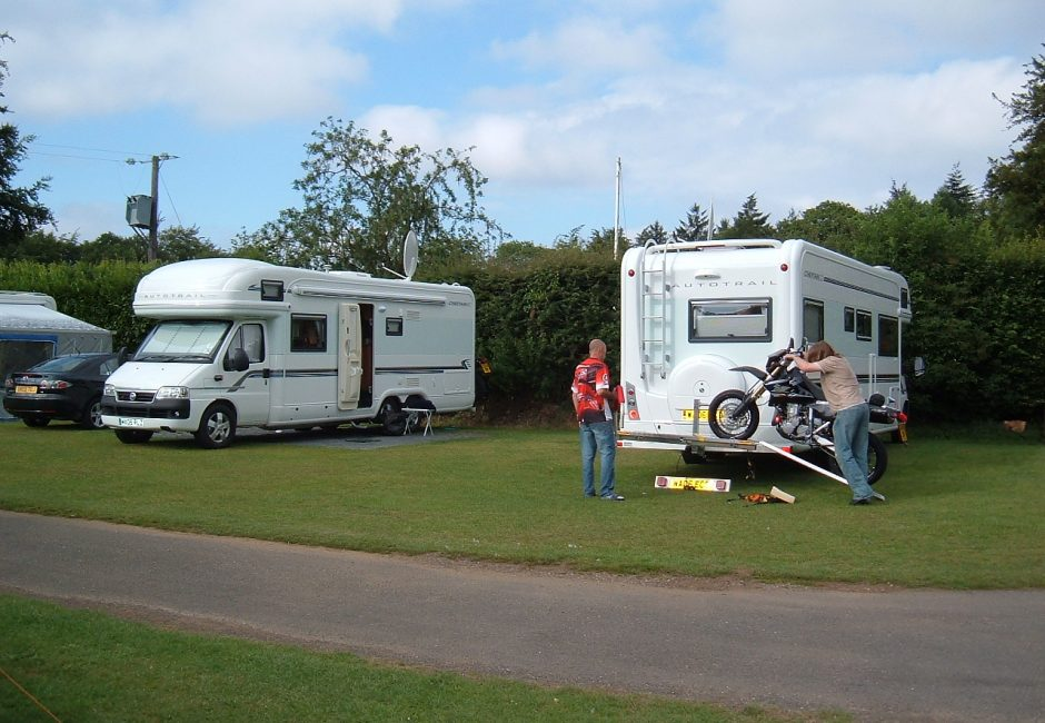 Motor homes welcome