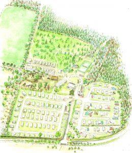 Colour park plan